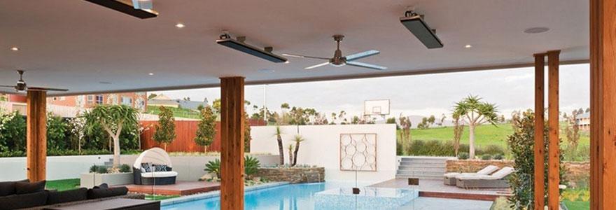 Les avantages d'un chauffage extérieur de type heatstrip