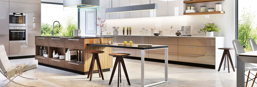 Entreprise spécialisée dans l'aménagement de cuisine