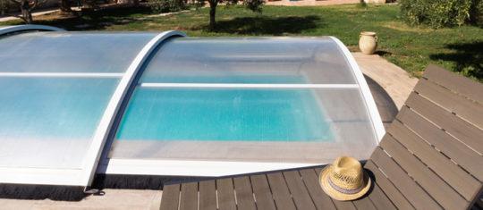 L'abri de piscine