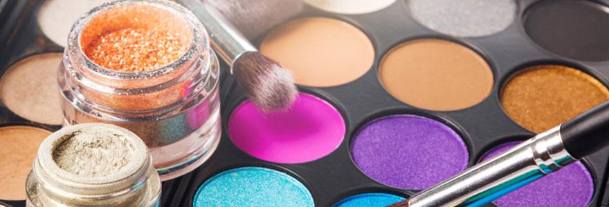 Nouvelle palette de maquillage