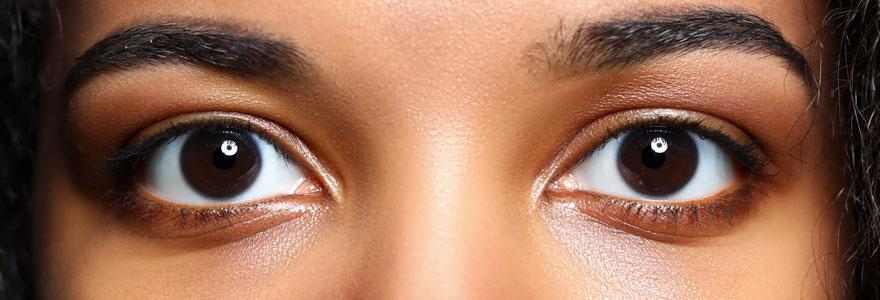 Les cernes des yeux