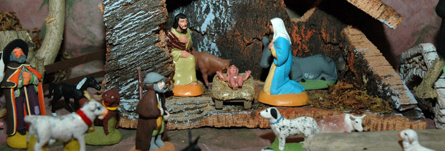 Santons crèche de Noel