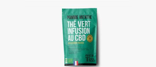 CBD sous forme d'infusion